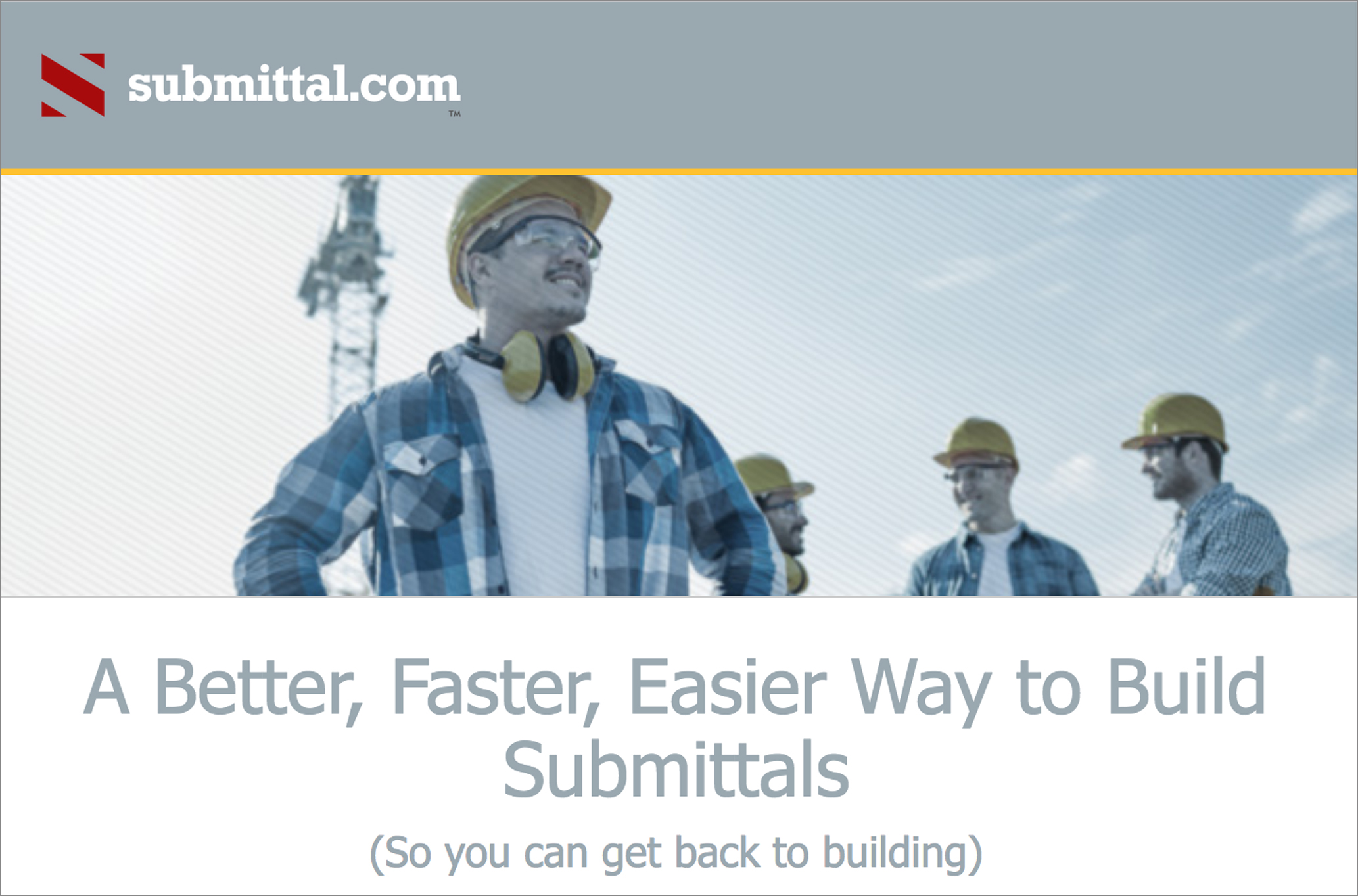Submittal.com project