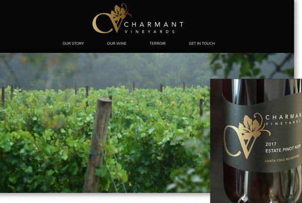 Charmant Vineyards case study image